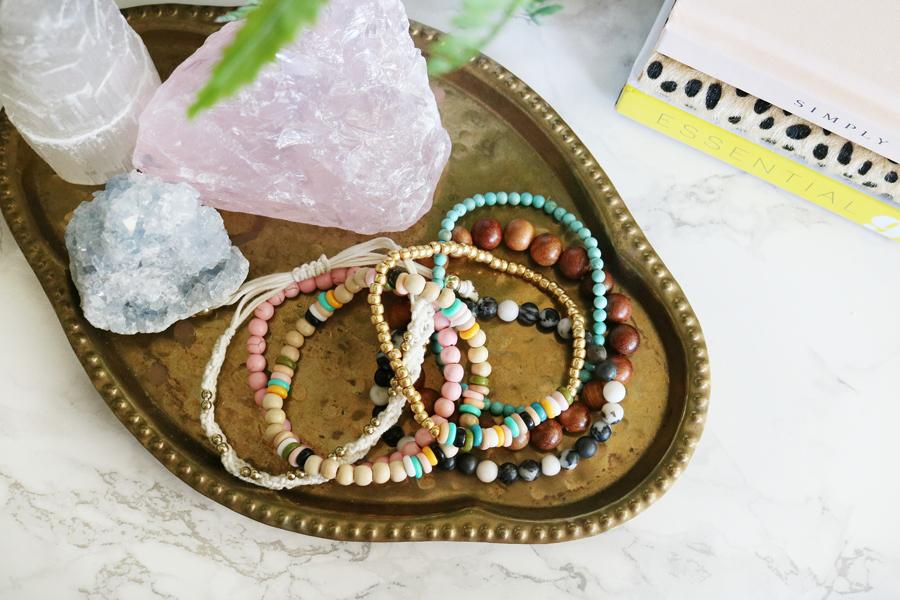 Boho Inpspired Perler Bead Bracelets