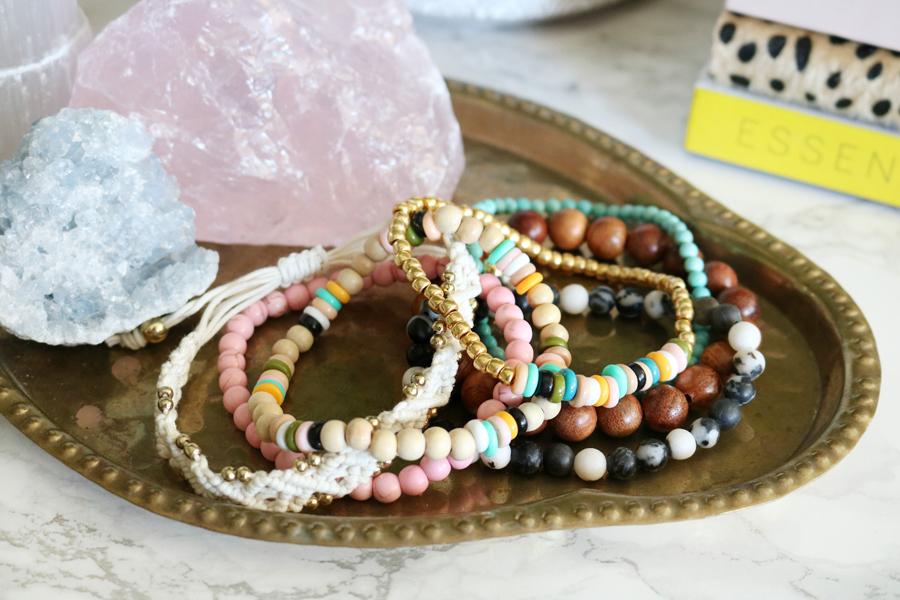 Easy to Make DIY Perler Bead Bracelets