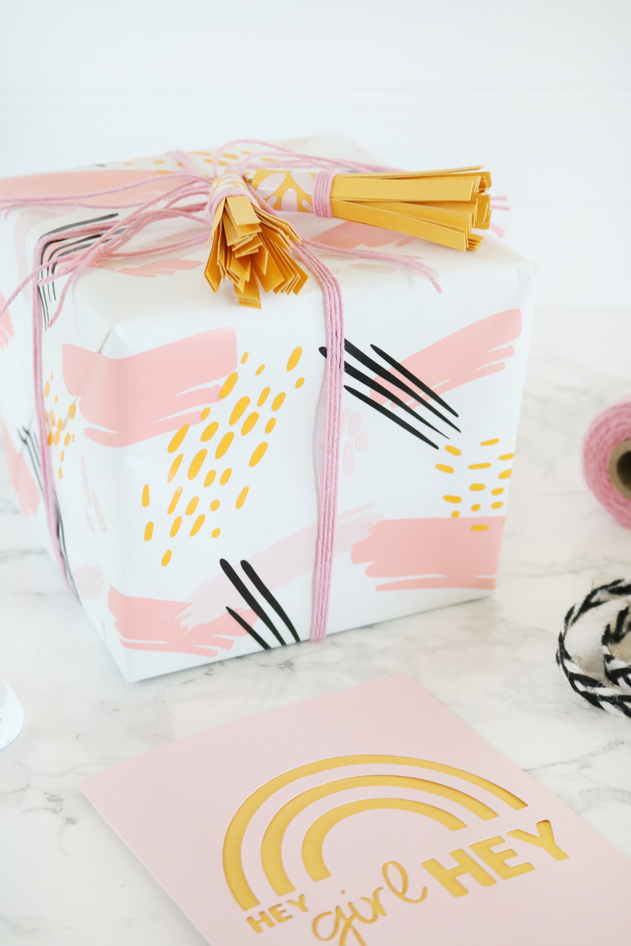 DIY Gift Wrap and Cards Make with Cricut Joy