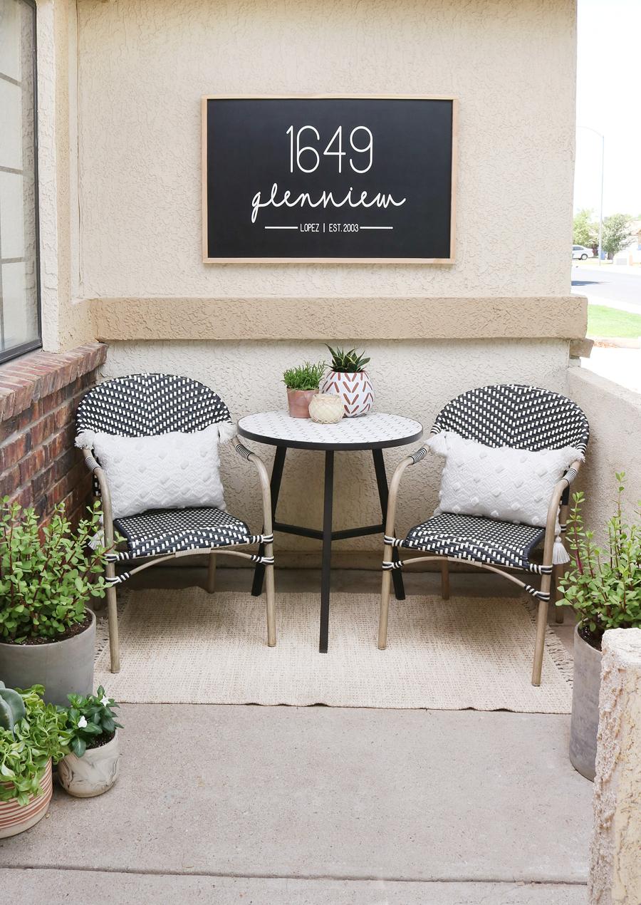 Budget Friendly Porch Refresh