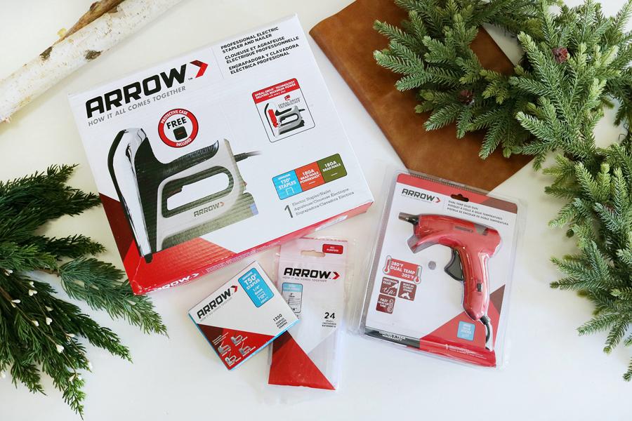 Arrow Professional Tools Make Holiday DIY's So Easy