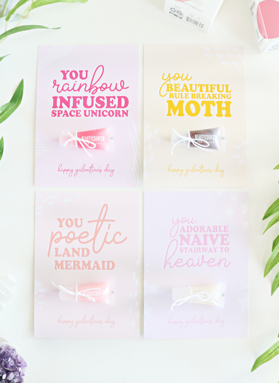Leslie Knope Inspired Galentine's Day Printable Cards - 4 Fun Cards to Download