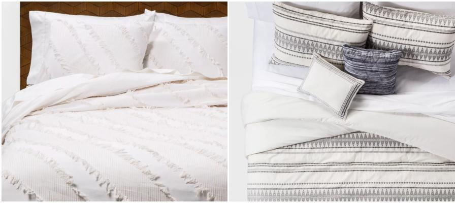 Neutral Comforter & Duvet Bedding 11