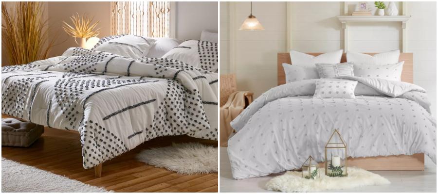 Neutral Comforter & Duvet Bedding 6