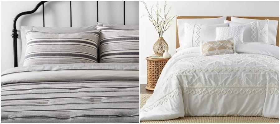 Neutral Comforter & Duvet Bedding 8
