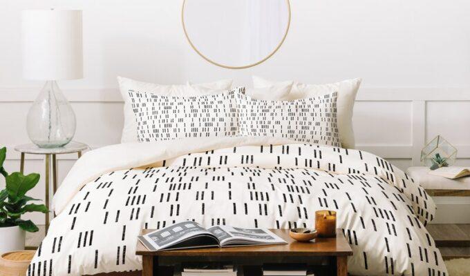26 Neutral Comforter & Duvet Textured Bedding Options