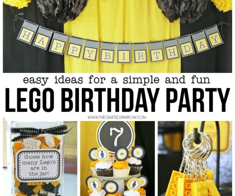 birthday decor Archives - The Crafted Sparrow